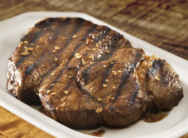 Grilled Teriyaki Chuck Steak