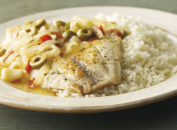 Escabeche-Style Fish with Rice
