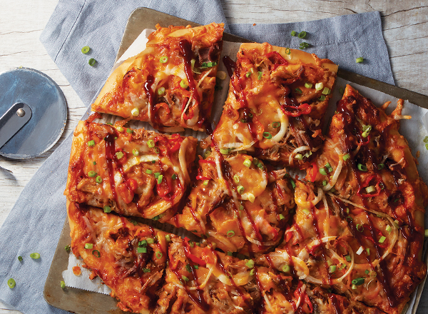 Barbecue Pork Pizza