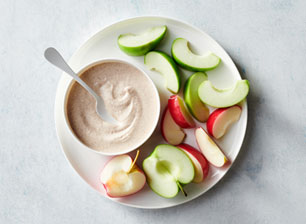 Apples with Almond Butter Dip