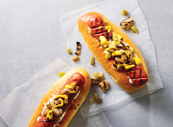 Seattle-Style Pigtail Hot Dogs