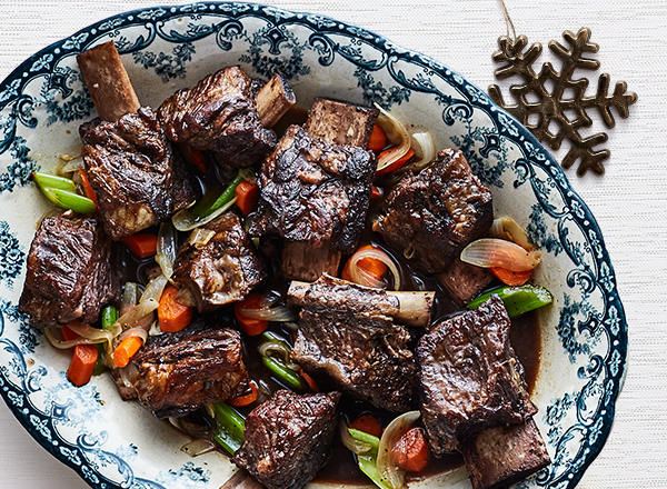 Braised Red Wine Short Ribs