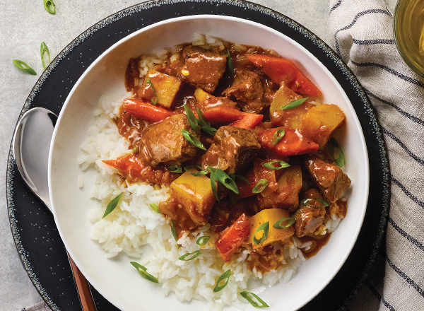 Japanese-Style Beef Curry Stew